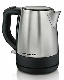 Hamilton Beach Electric Kettle,Tea and Hot Water Heater, Sta