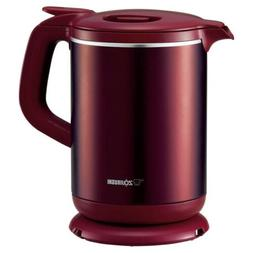 New! ZOJIRUSHI Electric Kettle 1.0L Thermos CK-AW10-RM Japan