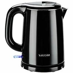 Secura Electric Kettles Stainless Steel Double Wall Water He