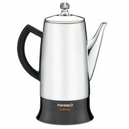 Stainless Steel 12 Cup Coffee Maker Electric Percolator Kett