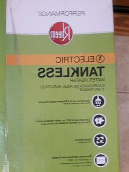 Rheem electric tankless water heater RETEX-18