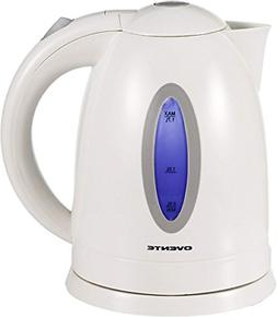Ovente BPA Free Electric Kettle 1.7 Liter with Auto Shut Off