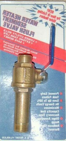 Electric Water Heater Sediment Drain Valve
