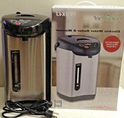 NutriChef Electric Hot Water Kettle -Tea Kettle Food Grade S