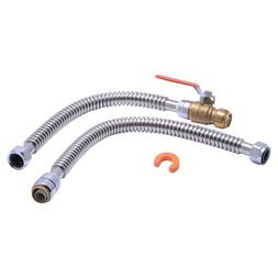SharkBite 24680 3/4 in. X 3/4 in. FIP Water Heater Connectio