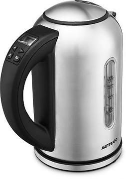 Gourmia GDK260 Digital Electric Kettle -Rotates 360° -Cordl