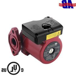 "AB Heating Circulation Pump 62 GPM 0-12"" Head 3-Speed for Ta"
