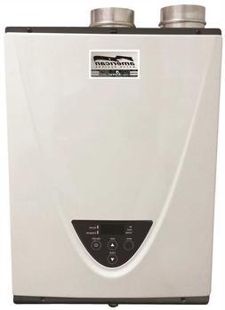 AMERICAN® INDOOR PROPANE CONDENSING TANKLESS WATER HEATER,