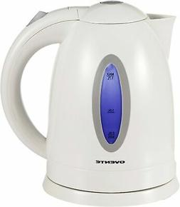 Ovente Electric Kettle 1.7 Liter Water Boiler & Tea Heater w