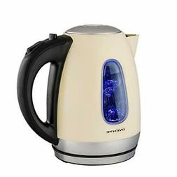 Ovente KS960BG Electric Kettle, Cordless Tea and Water Heate