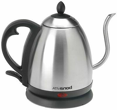 1 0l electric kettle featuring gooseneck spout