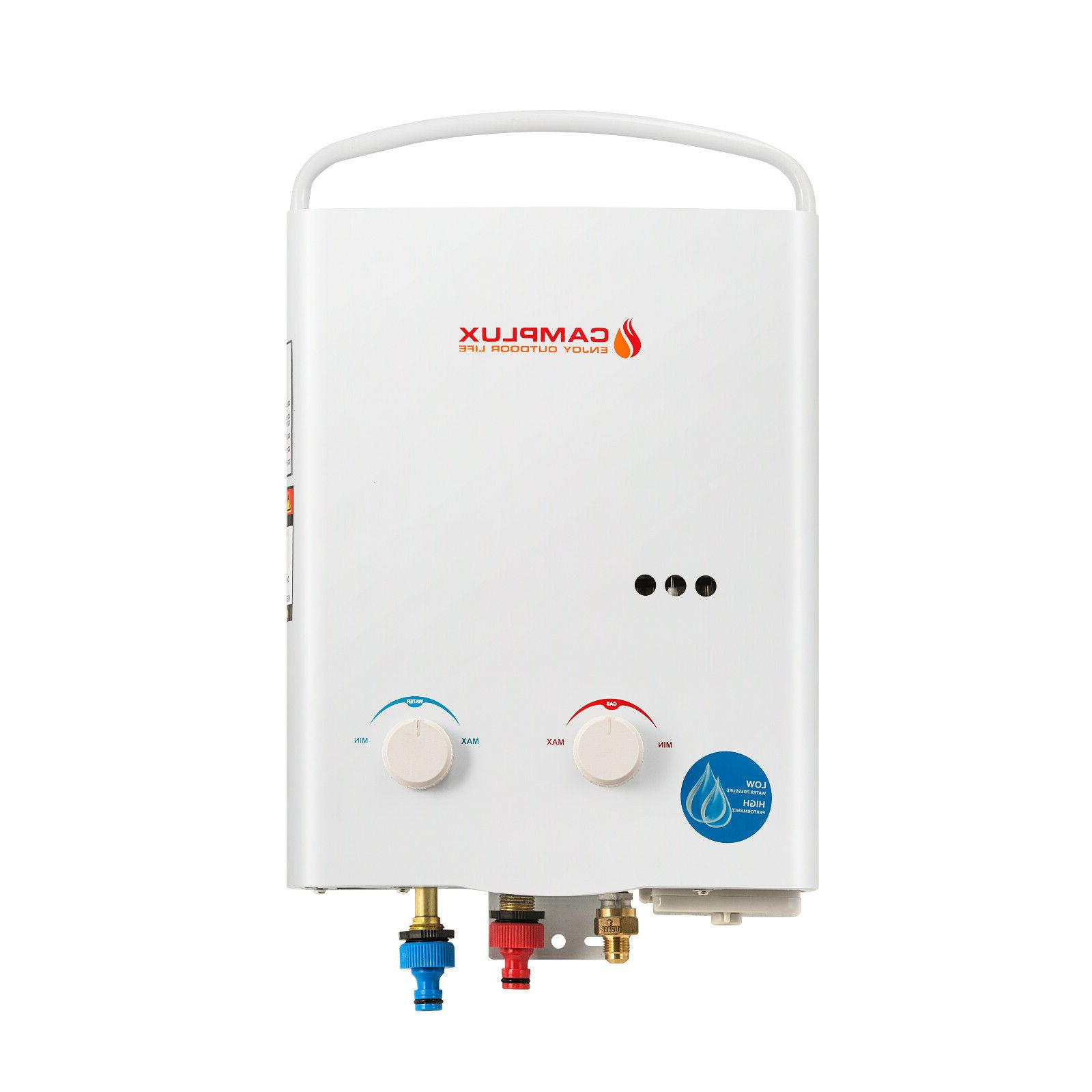 Camplux 5L 1.32 Outdoor LPG Gas Tankless