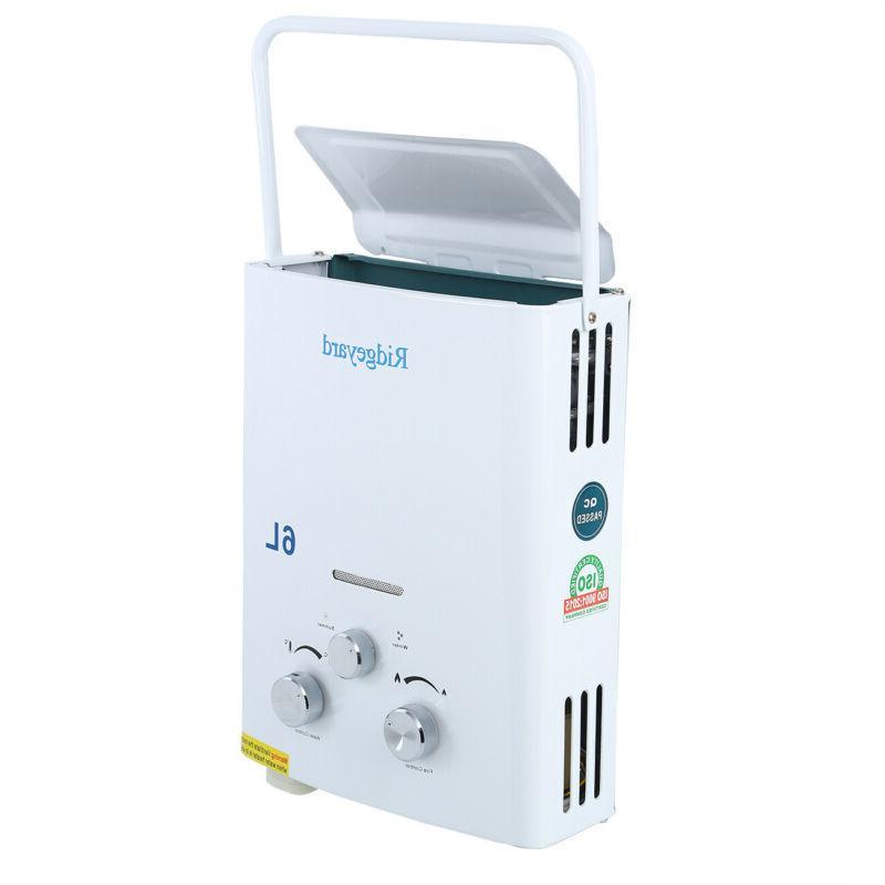 Portable 6L Gas Water Boiler Tankless RV