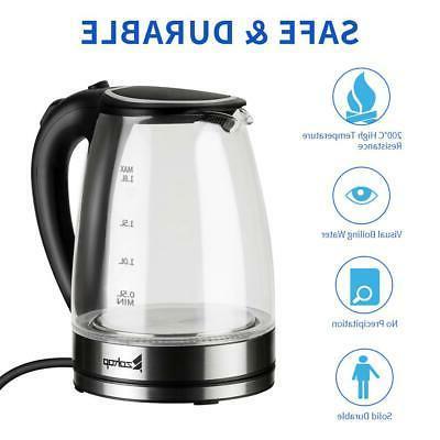1.8L Electric 1500W Fast Steel Hot Water