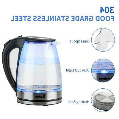 1.8L Electric 1500W Steel Hot Water