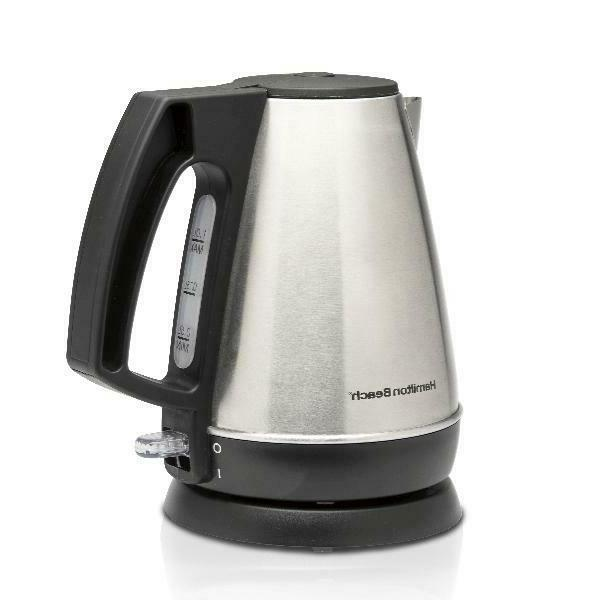 1 Electric Tea and Hot Heater, Stainless