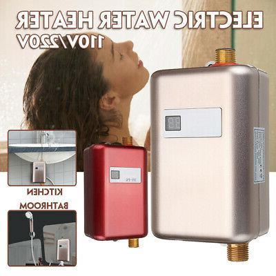 110 220v mini instant electric tankless hot