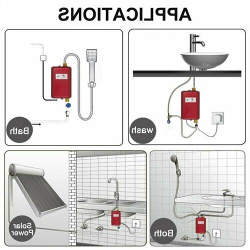 Electric Water Heater Tap 110V