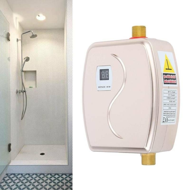 110v mini instant electric water heater tankless