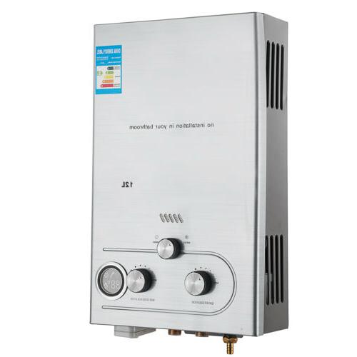 12L Propane Tankless Instant Hot Water