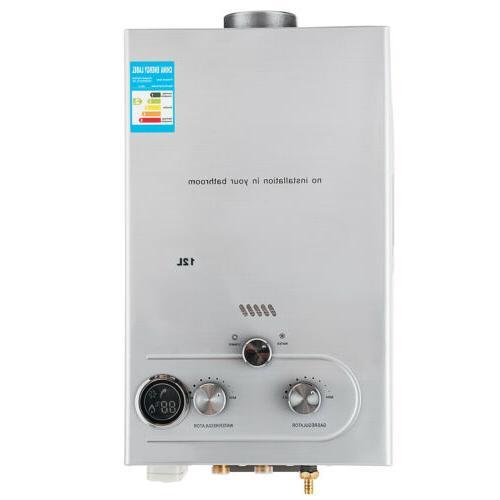 12L 3.2GPM Lpg Propane Heater Instant Boiler Shower