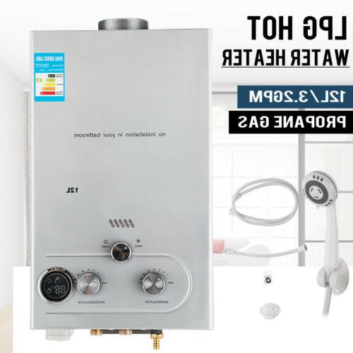 12l 3 2gpm lpg gas propane tankless