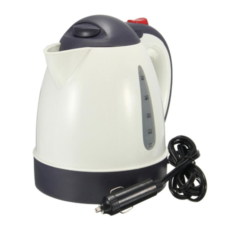 12v 1l electric car travel boiling kettle