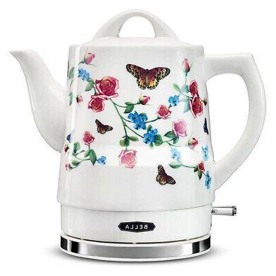 14747 electric ceramic coffee tea kettle water