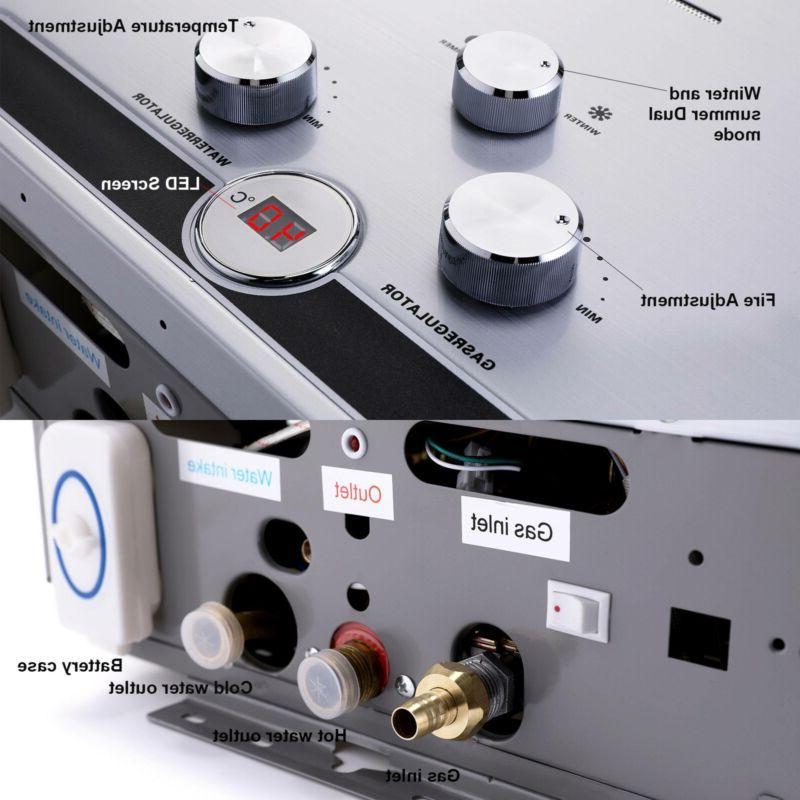 18L Hot Heater Propane Tankless LPG