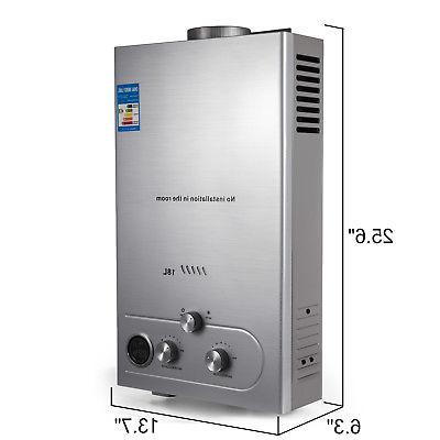 18L NATURAL WATER HEATER INSTANT BOILER ON TANKLESS