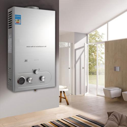 36KW Natural Tankless Hot Instant House