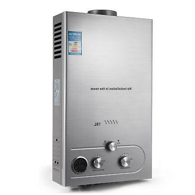 18L Tankless 5GPM Gas Hot Water Boiler Instant House