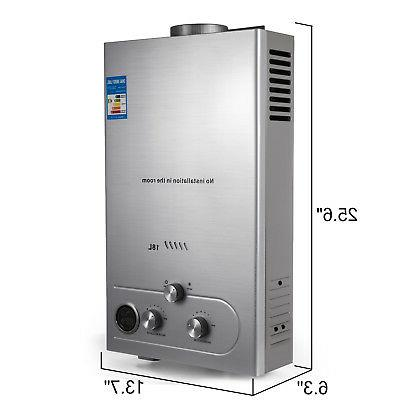 18L Tankless 5GPM Natural Gas Hot Boiler Instant House