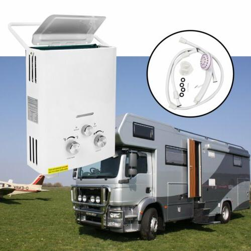2 gpm 6l portable tankless hot water