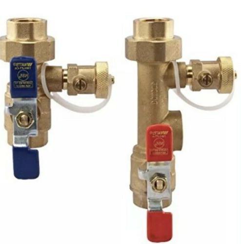 Watts 2-Piece Lead-Free Brass Tankless Water Heater Valve Se