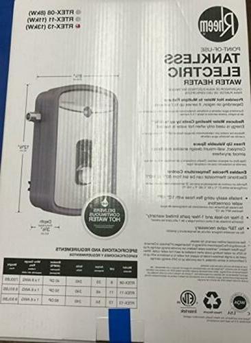 Rheem 240V RTEX-13 Heater