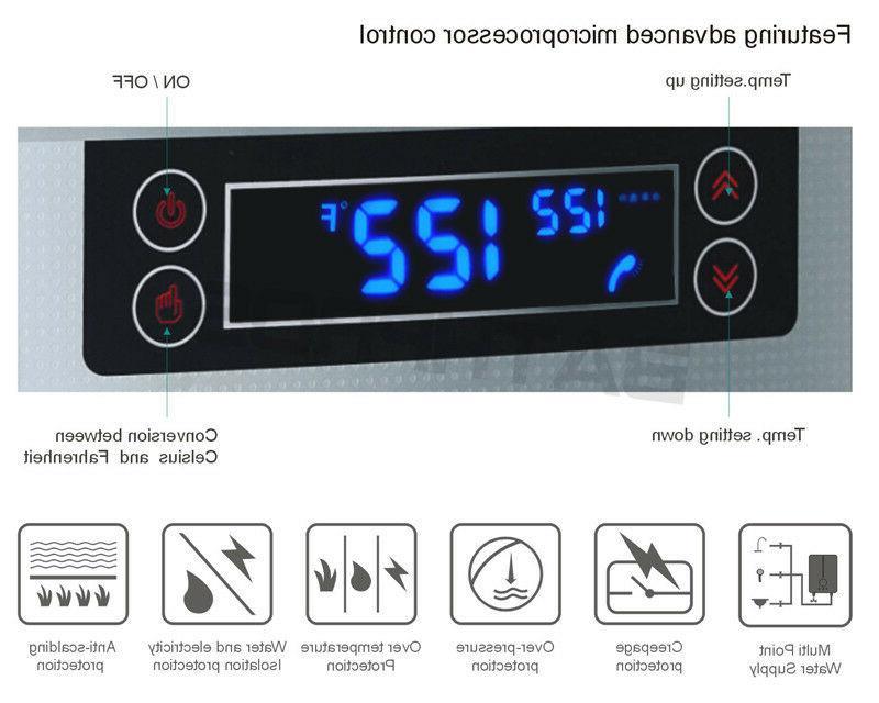 27KW Hot Water Heater Demand Bath 240V