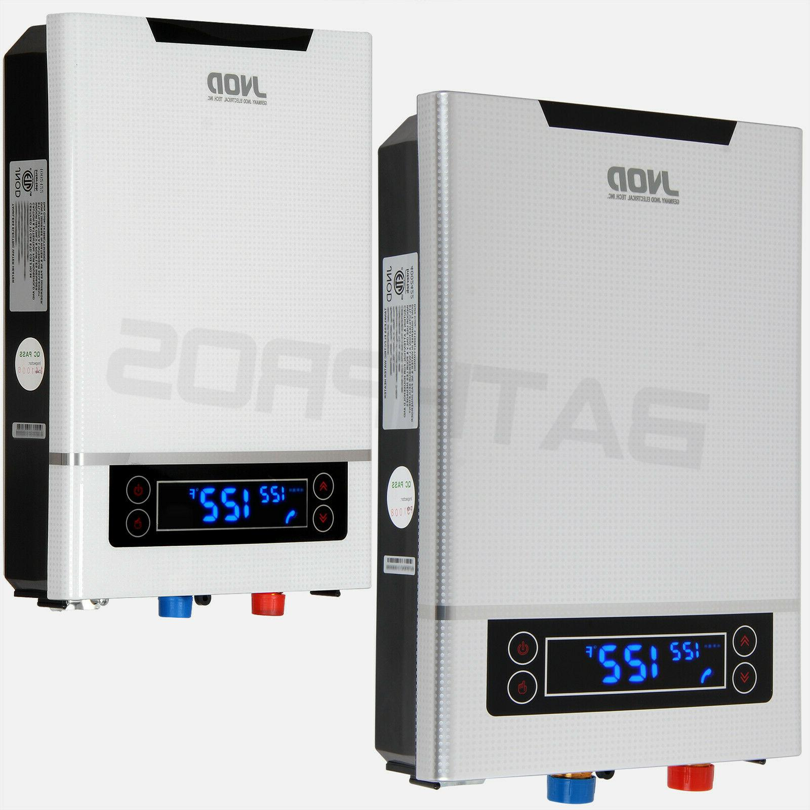 27kw fast heating electric tankless water heater