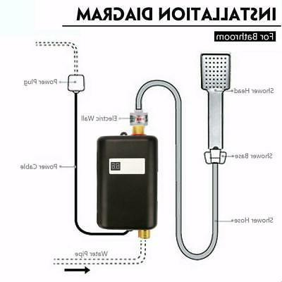 3000W Tankless Instant Water Heater