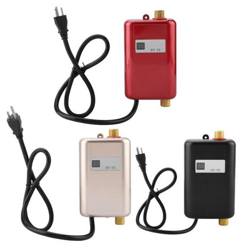 3000W Portable Instant Electric Hot Water Heater System Unde