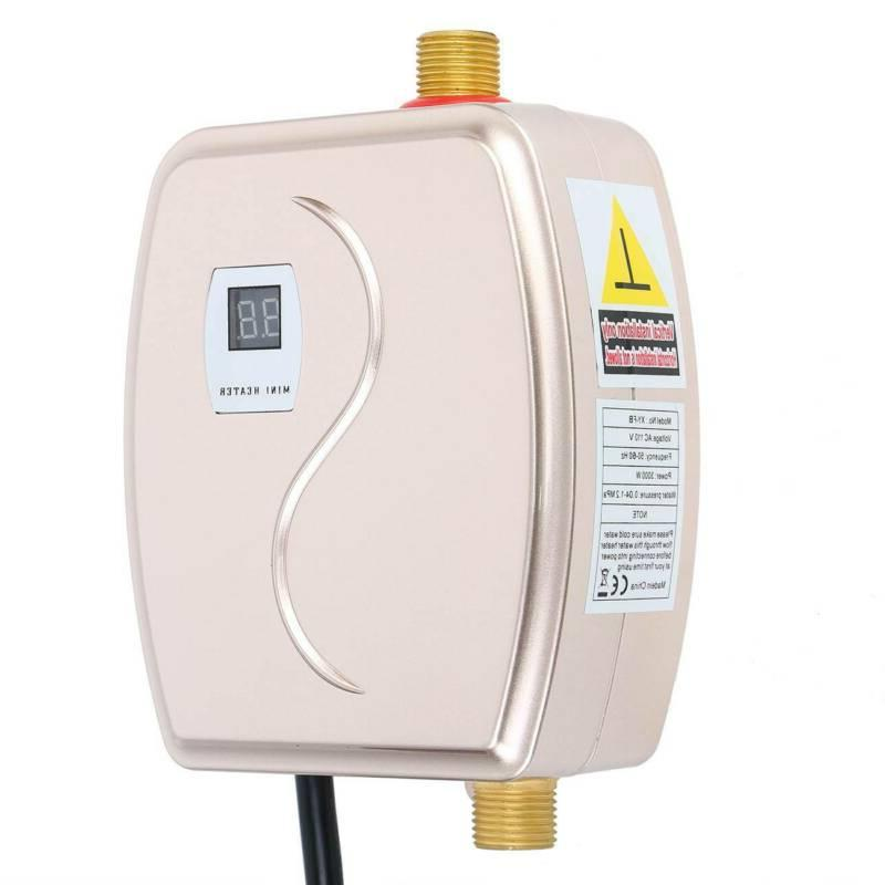 110V Mini Instant Electric Water Heater Boiler Kitchen