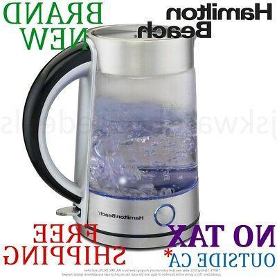 40867 modern glass kettle