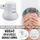 5400W Instant Electric Shower Head Hot Water Heater w/Hose B