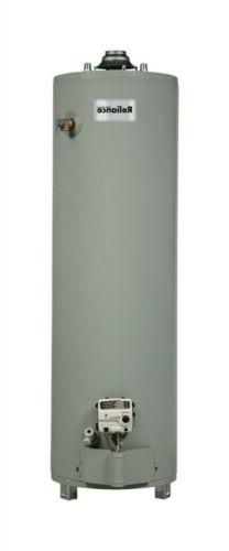 Reliance 6 40 Unbct 58-1/4 40 Gallon Gas Water Heater