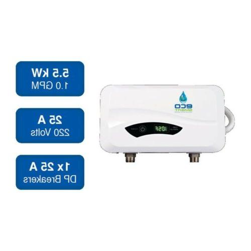 EcoSmart 6 kW 220V Point of Use Electric Tankless Water Heat