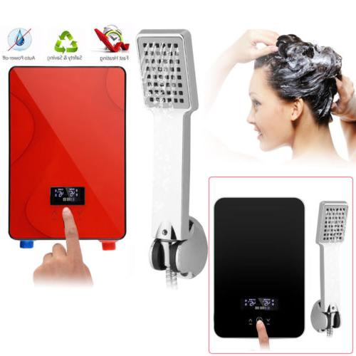 6500w 220v tankless instant electric hot water