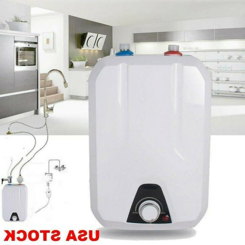 8l electric tankless hot water heater 1500w