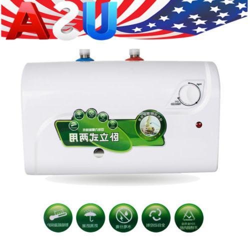 8L tank 1500W Instant Electric Hot Water Heater Boiler Bath