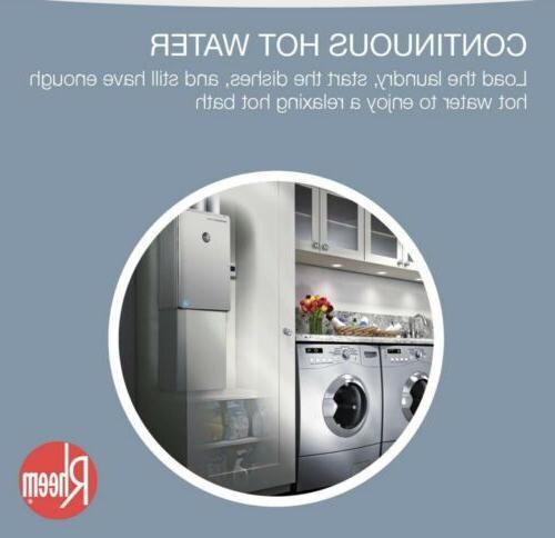 🔥Rheem 9.5GPM Indoor Tankless Water Heater Platinum ECOH200DVLN-2🔥