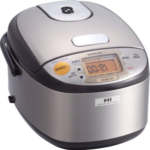 Zojirushi NP-GBC05XT Induction Heating System Rice Cooker an